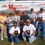 5/22/10 Mille Lacs  Left to Right Steve Fellegy, Tim Abraham, Scott Peters, Craig Wohlers, Christ Peters, Scott Schultz Kneel: Pete Semler Scott Olmstead
