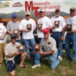 5/23/10 Mille Lacs Left to Right Chris Bauer, Josh Hukriede, Jerry Riege, Clayton Keister, Christ Peters, Scott Schultz Kneel: Eric Magedanz Jim Magedanz